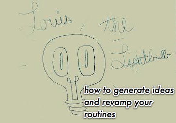 Promotional consideration provided by Louis the Lightbulb.